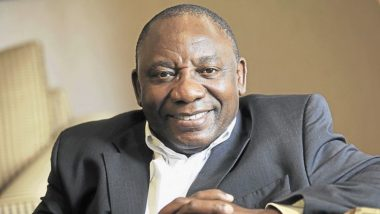 South African President Cyril Ramaphosa Takes Oath of Office